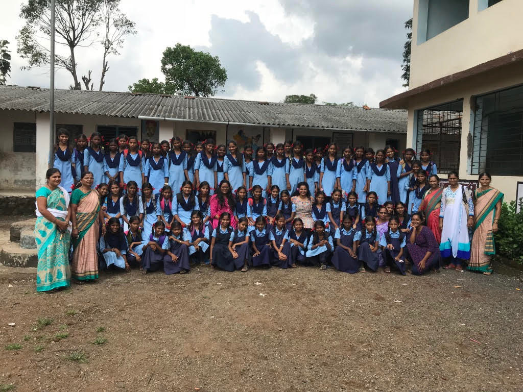 SEHER Advocacy Session with school children in Nadsur Village, Maharashtra
