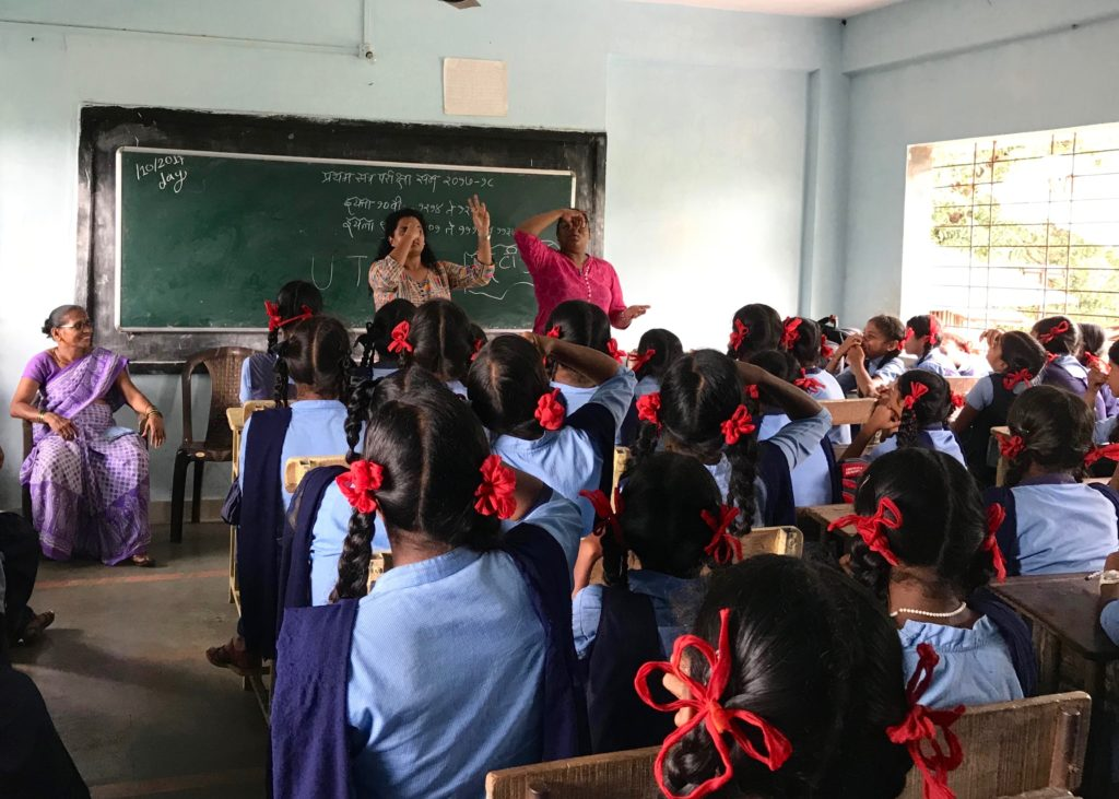 SEHER Session with school children in Maharashtra