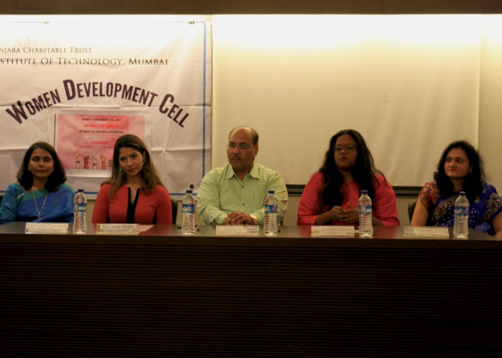 SEHER Seminar  on women's rights and creating social change at a college in Mumbai